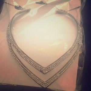 Jewelry - Jeweled Necklace/ Choker